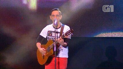 Festival de Inverno Bahia: Paulo Miklos toca 'Vou te encontrar'