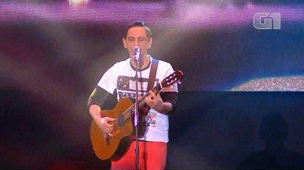 Festival de Inverno Bahia: veja os melhores momentos do show de Paulo Miklos