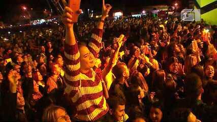 Festival de Inverno Bahia: Roupa Nova toca 'Meu Universo É Você'