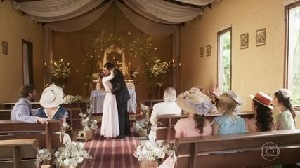 Darcy surpreende Elisabeta com casamento surpresa