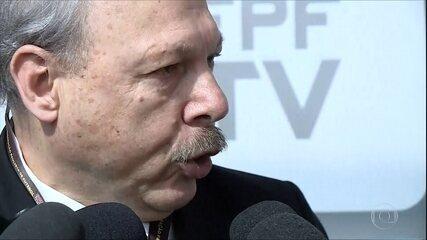 Presidente do Santos comenta as declarações de Cuca