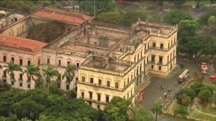 Museu Nacional funcionava sem o certificado do Corpo de Bombeiros