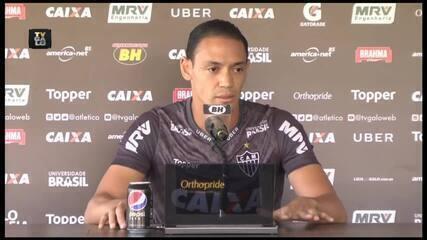Ricardo Oliveira incentiva grupo e convoca torcida por reação do Atlético-MG no Brasileiro