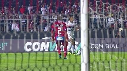 Melhores momentos: São Paulo 1 x 0 Bahia pela 24ª rodada do Brasileirão