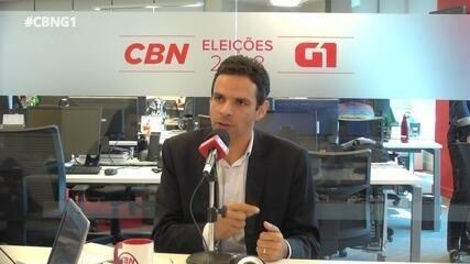 Prof. Claudio Fernando (PMN) é entrevistado pelo G1 e pela CBN