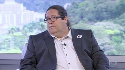 Tarcísio Motta (PSOL) é entrevistado no RJ1