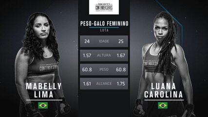 The Contender Series Brasil 1 - Mabelly Lima x Luana Carolina
