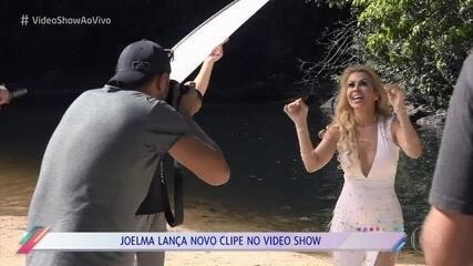 Confira os bastidores do novo clipe de Joelma