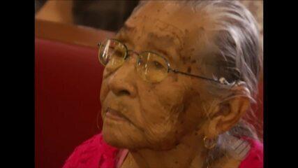 Moradora do estado de Manaus veio a Belém cumprir uma promessa a Nossa Senhora