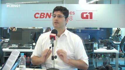 Rogerio Chequer (Novo) é entrevistado pelo G1 e pela CBN