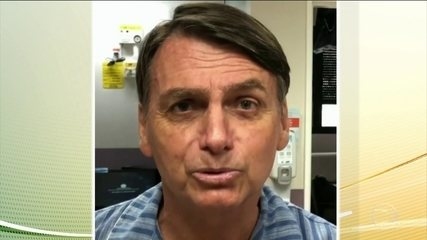Jair Bolsonaro (PSL) permanece internado no Hospital Albert Einstein, em SP