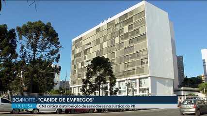 """Membro do CNJ chama Tribunal de Justiça do PR de """"cabide de empregos"""""""