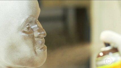 Pesquisadores estão recriando em tamanho real parte do acervo do Museu Nacional