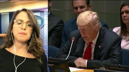 Trump deve defender 'América em 1º lugar' em discurso na ONU