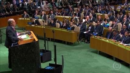 Assembleia da ONU reúne 193 países em NY que discutem imigração, terrorismo e populismo
