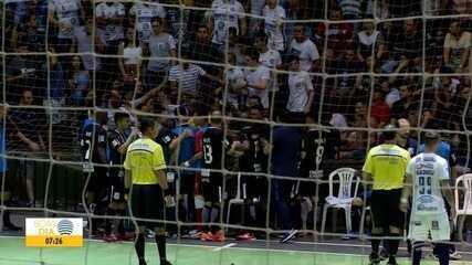 Assista ao gol e lances da partida no interior paulista