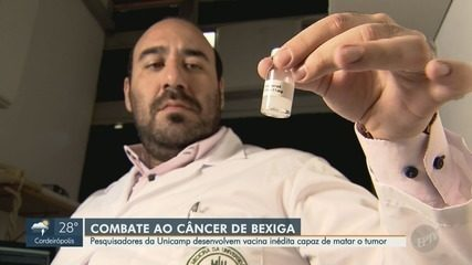 Pesquisadores da Unicamp desenvolvem medicina inédita no combate do câncer de bexiga