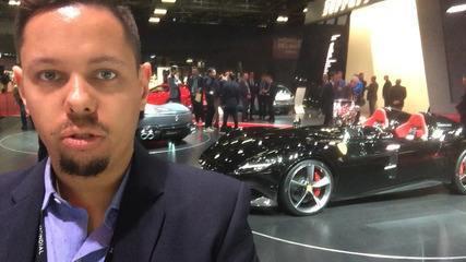 VÍDEO: Ferrari Monza, de 810 cavalos, faz estreia mundial no Salão de Paris