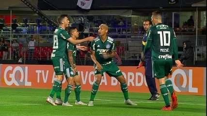 Os gols de São Paulo 0 x 2 Palmeiras pela 28ª rodada do Campeonato Brasileiro