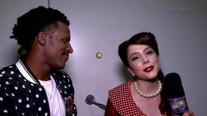 Time feminino repercute a rodada do rock no 'Dança dos Famosos'