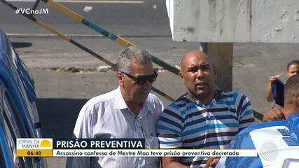 Justiça decreta prisão preventiva de homem que matou mestre de capoeira a facadas