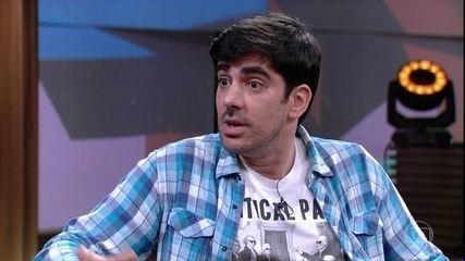 Marcelo Adnet fala sobre série de imitações de candidatos que fez para o jornal 'O Globo'