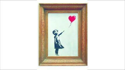 Após leilão, mulher decide manter compra de quadro de Banksy que se autodestruiu