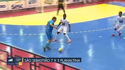 Veja os gols do fim de semana pela Copa Brasília de futsal