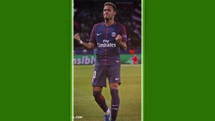 Confira os gols de Neymar com a camisa do Paris Saint Germain