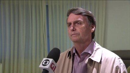 Candidato do PSL, Jair Bolsonaro recebe visita de deputados da bancada católica no Rio