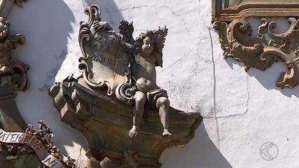 Escultura danificada em igreja de São João del Rei foi feita pelo mestre Aleijadinho