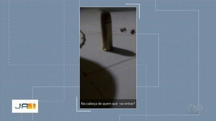 Aluno é suspeito de mandar foto para colegas em tom de ameça, em Aparecida de Goiânia