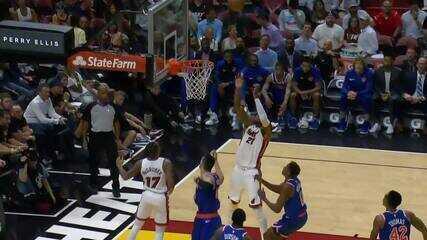 Melhores momentos: New York Knicks 87 x 110 Miami Heat de NBA