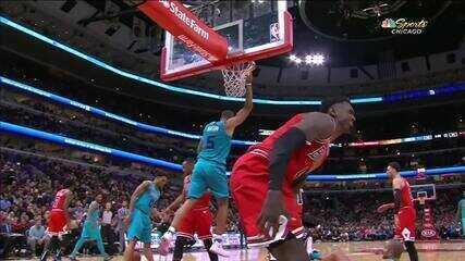 Melhores momentos: Charlotte Hornets 110 x 112 Chicago Bulls de NBA