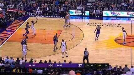 Melhores momentos: Los Angeles Lakers 131 x 113 Phoenix Suns de NBA