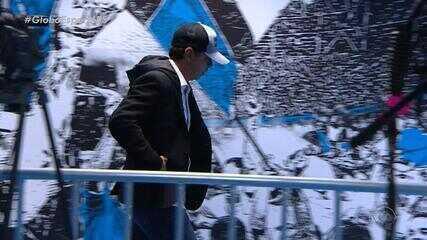 Técnico do River, Marcelo Gallardo, descumpre punição da Conmebol em jogo contra o Grêmio