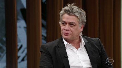 """Fábio Assunção relembra seu personagem em """"Onde nascem os fortes"""""""