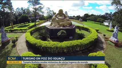 Curta o Paraná: conheça o templo budista em Foz do Iguaçu
