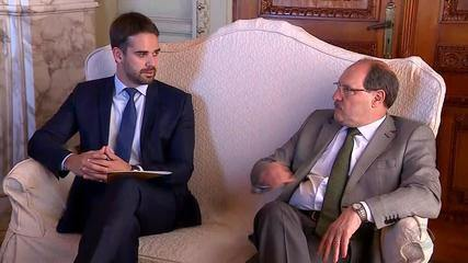 Sartori e Leite fazem primeira reunião de transição do governo no RS