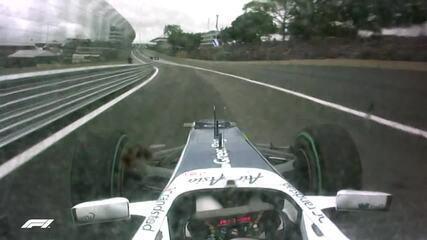 Pole position de Nico Hulkenberg no GP do Brasil de 2010