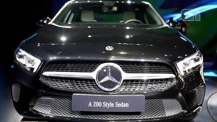 Salão do Automóvel 2018: Mercedes- Benz apresenta o Classe A Sedan