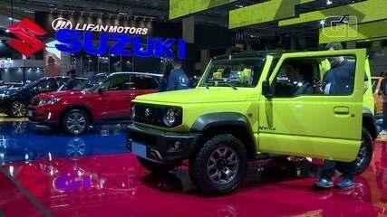 Salão do Automóvel 2018: Suzuki destaca a nova geração do Jimny e novo modelo do Vitara