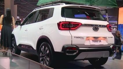 Salão do Automóvel 2018: Chery mostra o elétrico Arrizo e os novos modelos do Tiggo