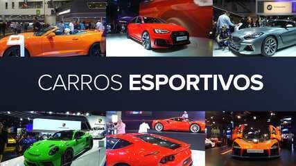Guia do Salão do Automóvel 2018: esportivos