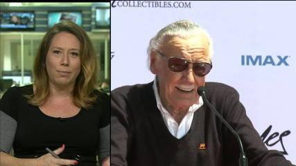 Veja comentários sobre a morte de Stan Lee, GloboNews