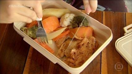 Saiba quais os alimentos são indicados para montar uma marmita fria