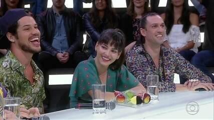 Convidados e jurados debatem sobre sexo