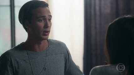 Márcio confessa a Pérola que não deseja ser pai