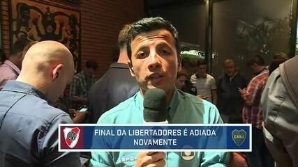 Adiado outra vez! Após confusão de sábado, final da Libertadores é novamente adiada