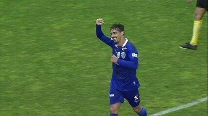 Neto Berola faz três gols do CSAcontra o Juventude e é o artilheiro musical do Fantástico